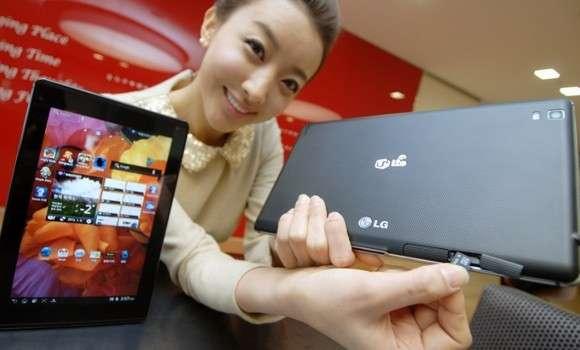 LG Optimus Pad LTE si dimentica di Android 4