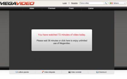 Megavideo chiuso da FBI: sito di video streaming prima vittima del SOPA? Anonymous contrattacca