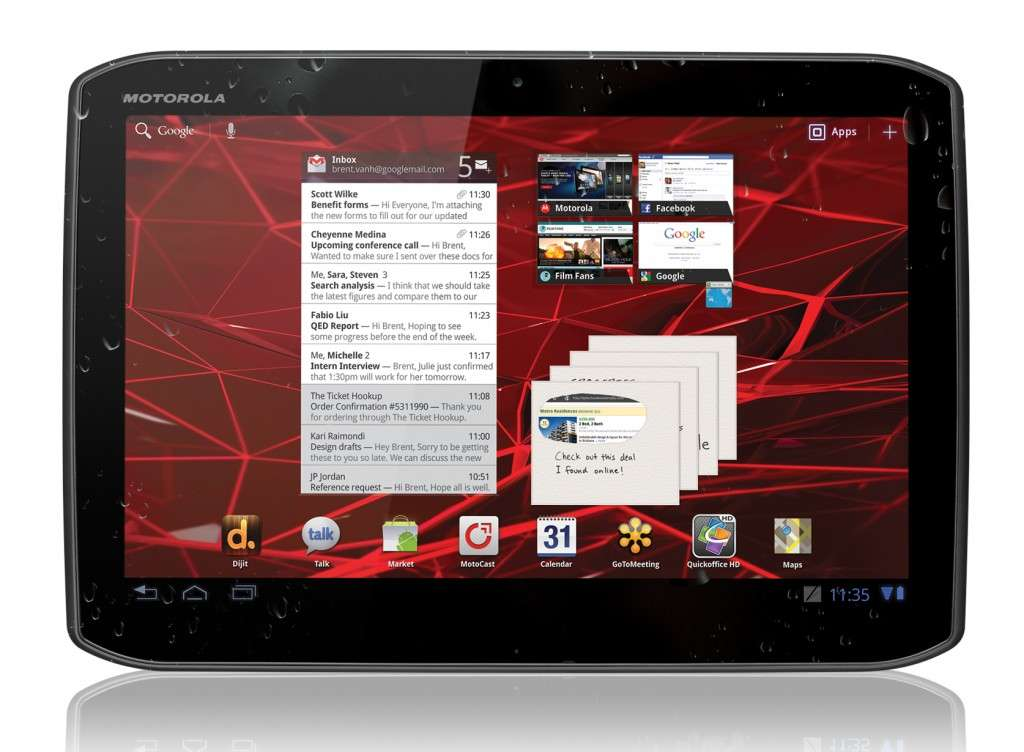 Motorola Xoom 2 in Italia: grande potenza, prezzo timido