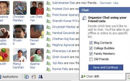 Problemi con la chat di Facebook: rimane sempre online