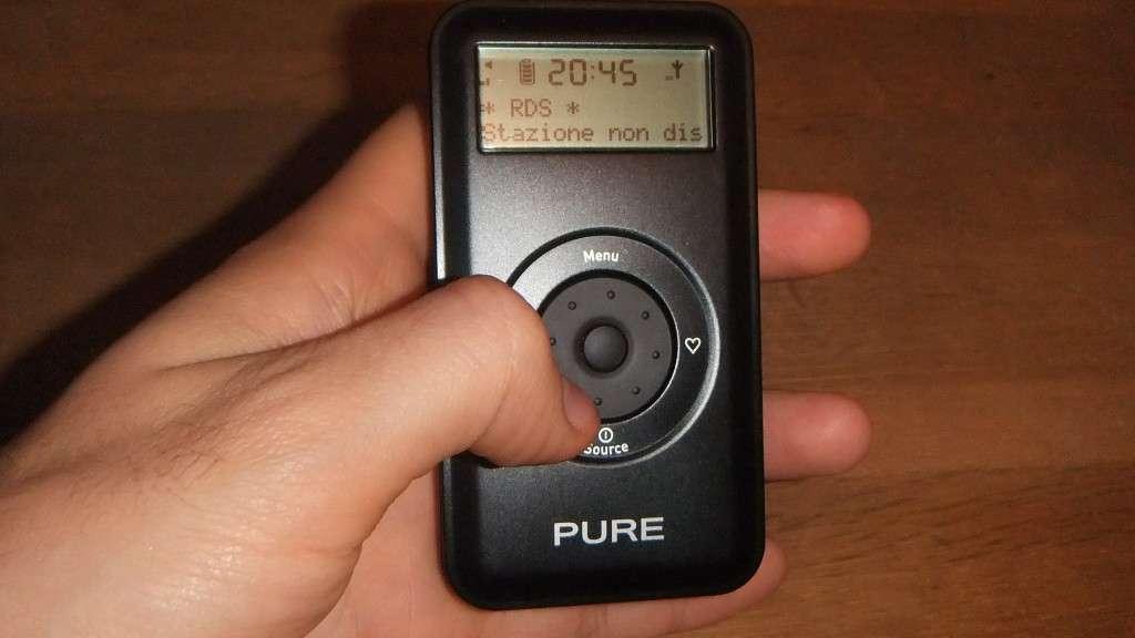 Pure Move 2500, la nostra recensione della radio digitale tascabile