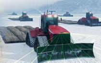 I robot hitech per il lavoro duro in Antartide e Sahara