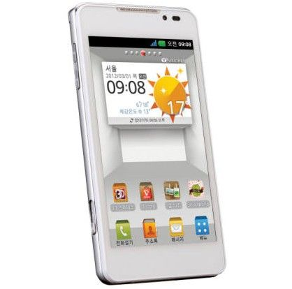 LG Optimus 3D max android mwc