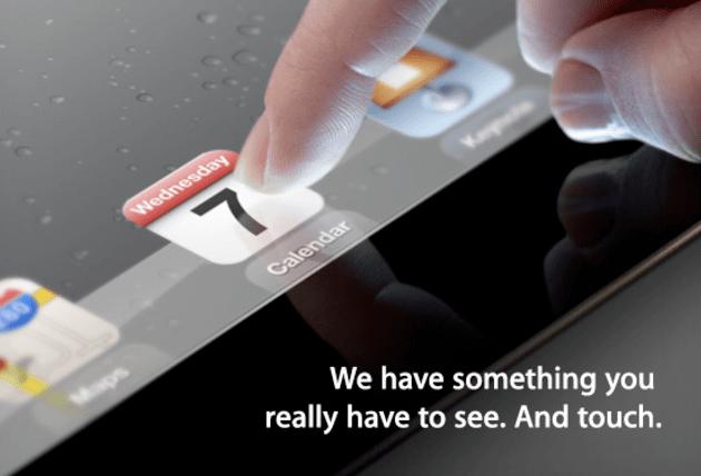 iPad 3 presentato il 7 marzo, è ufficiale [FOTO]