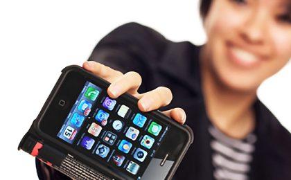 La custodia anti-ladro per iPhone con spray urticante