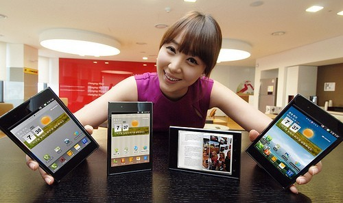lg optimus vu android mwc