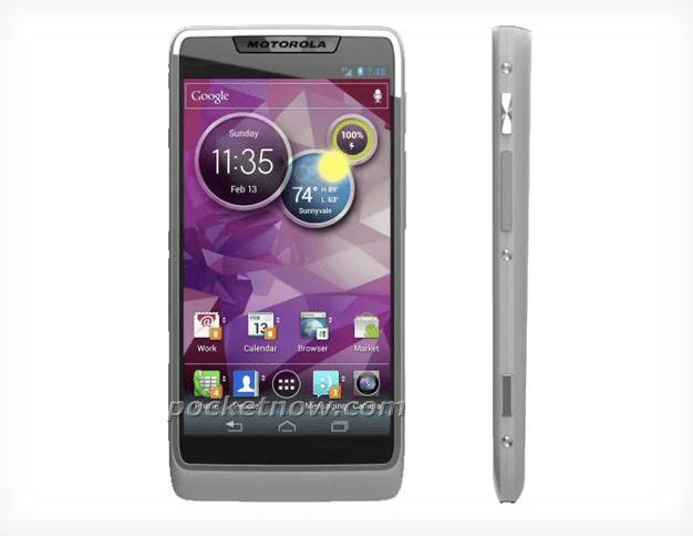 Motorola, primo smartphone con Intel Medfield [FOTO IN ANTEPRIMA]