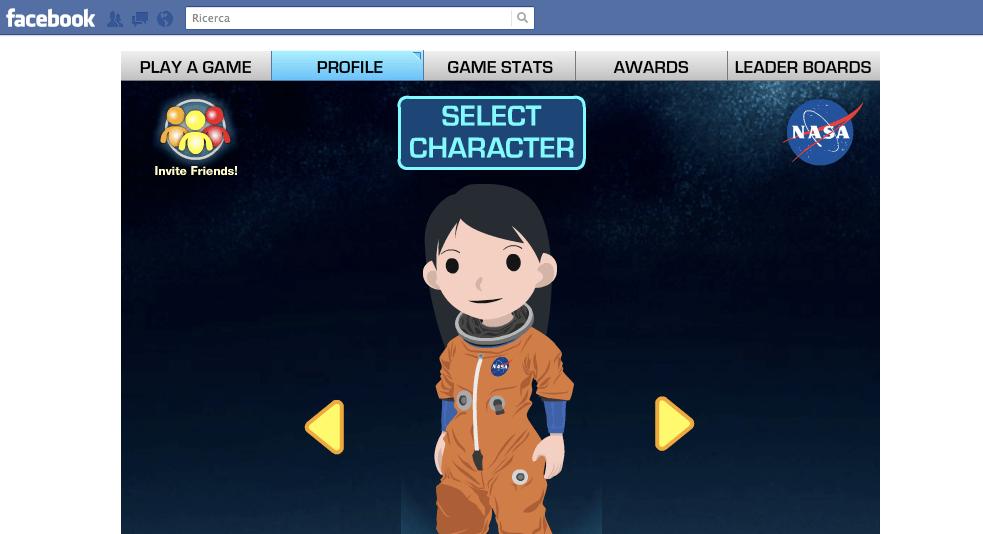 Il gioco-quiz NASA sbarca su Facebook: le sai tutte sullo spazio?