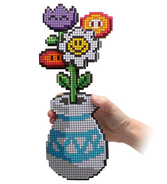 vaso fiori 8 bit