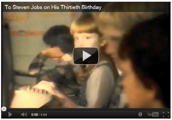 Sony blocca il video tributo per Steve Jobs su Youtube