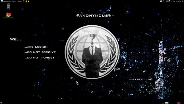 Anonymous OS in download: la trappola è assicurata