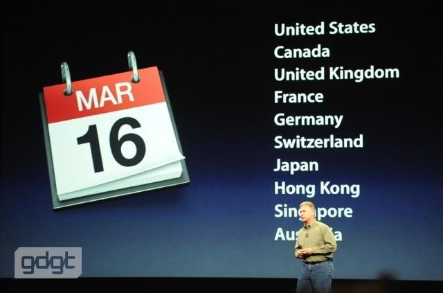 Il Nuovo iPad (3) in uscita in Italia il 23 marzo: prezzi e modelli