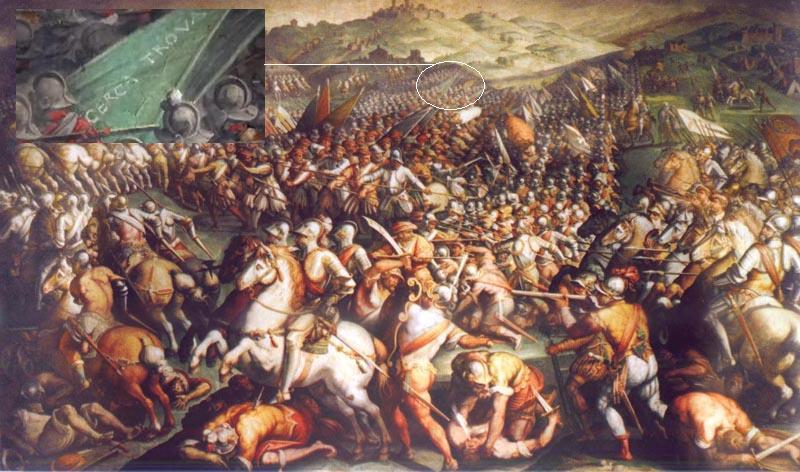 Scanner scopre il Leonardo perduto della Battaglia di Anghiari