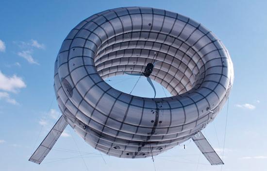 Energia eolica hitech grazie al dirigibile ciambella del MIT [FOTO]