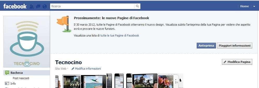 Facebook Diario da subito per le Pagine fan, come fare?