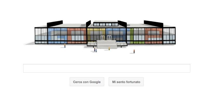 Google Doodle per Mies van der Rohe, il logo architettonico