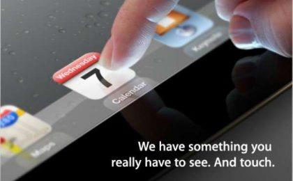 iPad HD o iPad 3, come sarà? Segui il nostro live alle 19 [FOTO]