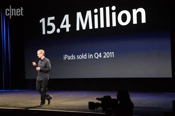 ipad venduti 2012