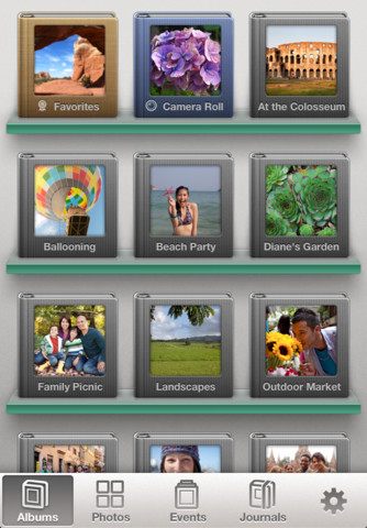 iphoto menu