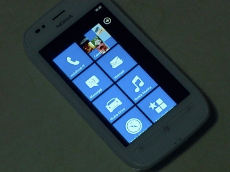 nokia lumia 710 windows phone menu