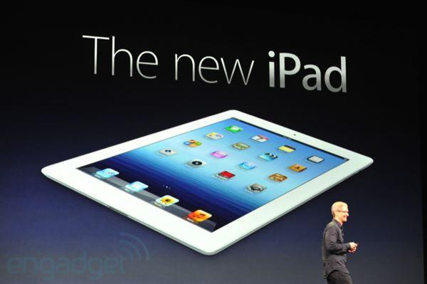 nuovo ipad 2012