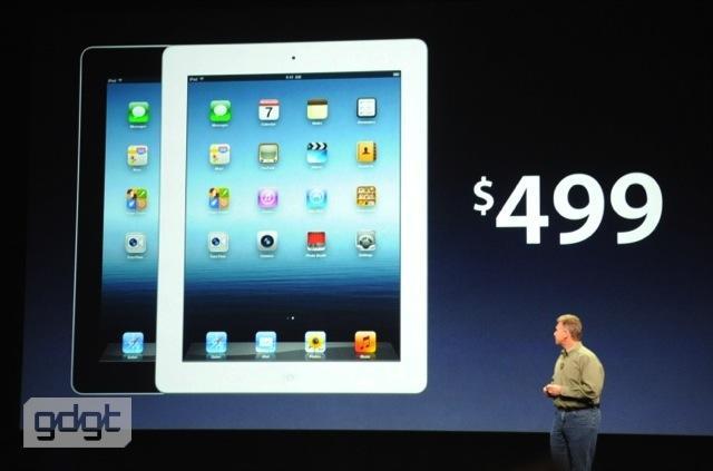 Nuovo iPad: i prezzi ufficiali di tutti i modelli