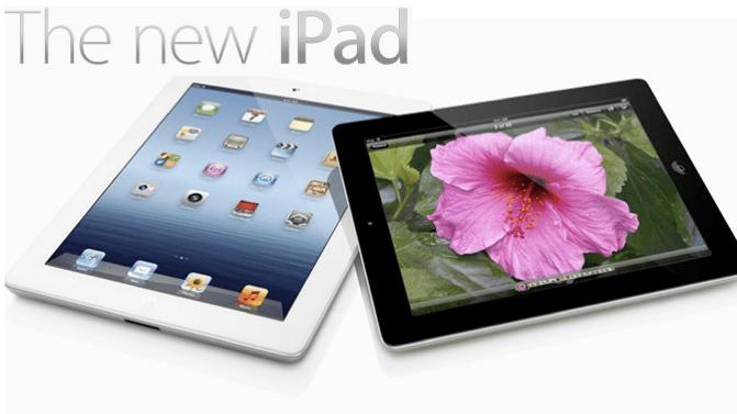 Nuovo iPad, prezzi ufficiali in Italia in versione Wi-Fi e con 4G LTE