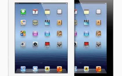 Nuovo iPad con Tim, Vodafone e Tre (3 Italia), confronto tra abbonamenti