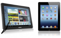 Samsung Galaxy Note 10.1 vs nuovo iPad: lotta tra titani [FOTO]