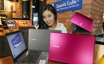 Samsung Ultrabook rosa shocking per la Festa delle Donna