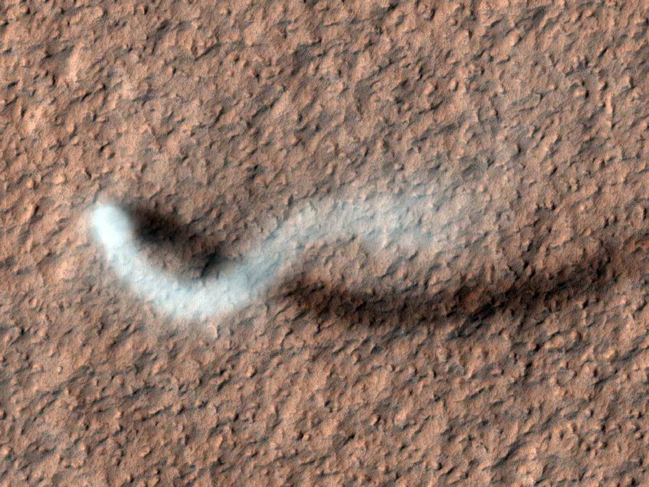 Il serpente fantasma gigante apparso su Marte [FOTO]