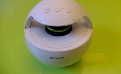 Altoparlante per iPhone Wi-Fi Sony SRS-BTV25, musica a 360 gradi [FOTO e TEST]