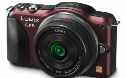 Panasonic Lumix GF5, touchscreen e prestazioni da reflex