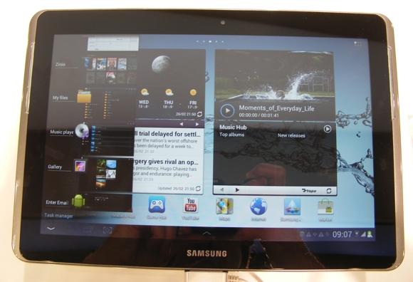 Samsung Galaxy Tab 2 10.1 e la bufala del processore quad core