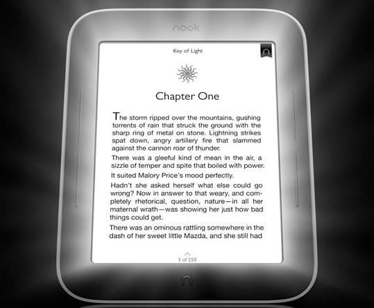 Nook Simple Touch, il lettore ebook con retroilluminazione intelligente