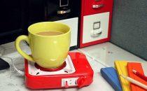 Fornello a gas USB, lo scaldavivande per la scrivania [FOTO]