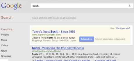 google adsense teletrasporto