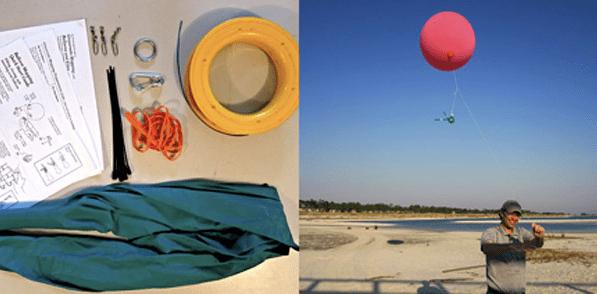 Google Earth fai da te con foto da palloni sonda e aquiloni
