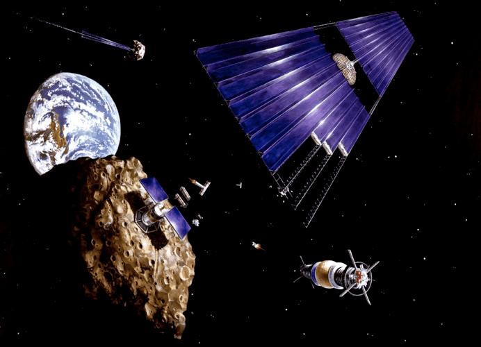 Google e James Cameron puntano agli asteroidi come miniere spaziali
