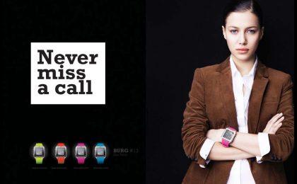 Orologio-cellulare Burg: un telefono a portata di polso [FOTO]
