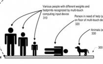 Pavimento multitouch misura, conta e controlla le persone