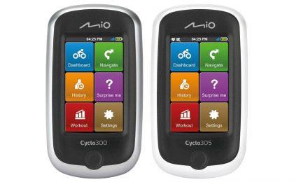 Mio Cyclo 300 e 305, navigatori da bici che ti consigliano i percorsi