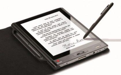Olivetti Graphos, il tablet per firme digitali con valore legale [FOTO]