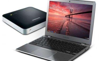 Samsung Chromebook e Chromebox rigiocano la carta Chrome OS [FOTO]