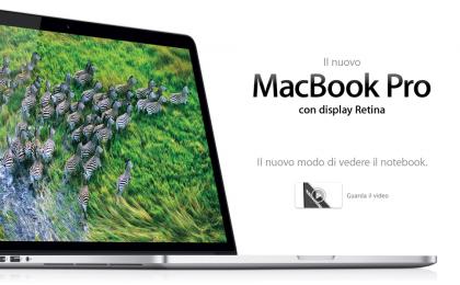 Macbook Pro con Retina Display: cambiare batteria costa il 54% in più
