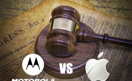 Apple vs Motorola: la guerra dei brevetti sfocia in un'archiviazione del caso
