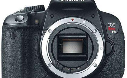 Canon 650D la reflex con schermo touchscreen [FOTO]
