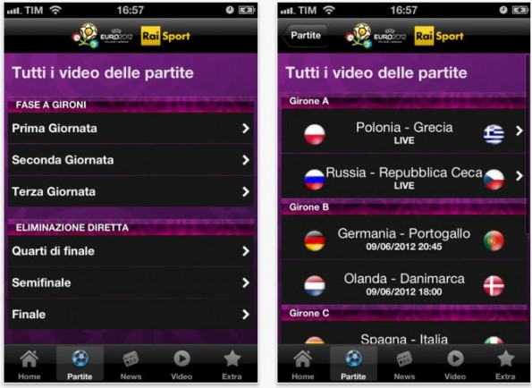 Europei 2012 in streaming gratis tutte le partite