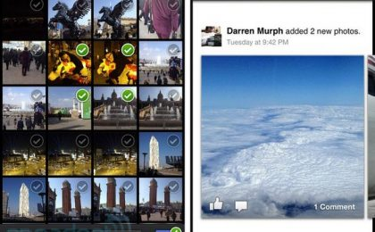 Facebook Camera modifica il nome per evitare problemi con Apple [FOTO]