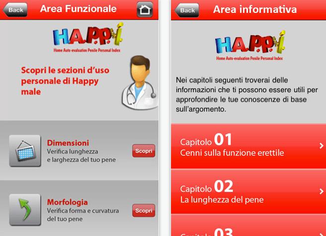 Happy Male, l'app per iPhone che misura la virilità